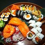 Photo taken at Yuki Japanese Restaurant by Chris C. on 1/19/2013