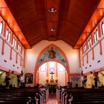 Photo taken at Gereja Katolik Kristus Raja by Felix W. on 1/19/2013