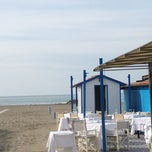 Photo taken at Forte Dei Marmi by Elisa P. on 2/9/2013