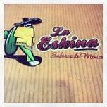 Photo taken at La Eskina Taqueria by Raquel V. on 12/14/2012