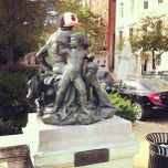 Photo taken at War Statue by Justin H. on 10/6/2012