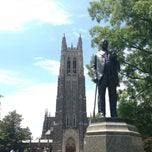 Photo taken at Duke University by TJ C. on 5/27/2013