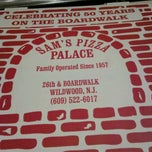 Photo taken at Sam's Pizza Palace by LuighAine on 10/5/2012