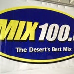 Photo taken at MIX 100.5 Radio by Manny the Movie Guy on 2/8/2013