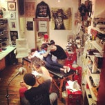 Photo taken at Kids Love Ink East Tattoo by Dylan H. on 11/20/2012