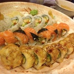 Photo taken at Sushi Ten by Laura B. on 6/13/2013