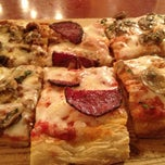 Photo taken at Ben Gurion Pizzeria (הפיצרייה בן גוריון) by Leon L. on 3/9/2013