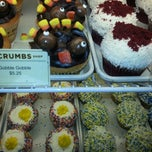 Photo taken at Crumbs Bake Shop by Julie H. on 11/27/2013