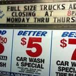 Photo taken at Original Two Dollar Car Wash by Charles P. on 11/10/2012