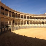 Photo taken at Plaza de Toros de Ronda by Jacqueline H. on 10/2/2012
