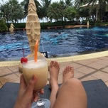 Photo taken at Baan Grood Arcadia Resort And Spa by Thitima B. on 4/14/2015