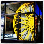 Photo taken at SoulCycle NoHo by Aimee K. on 10/18/2013
