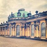 Photo taken at Schloss Sanssouci by Ilya A. on 4/17/2013