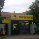 Photo taken at SMAN 26 Jakarta by Michael C. on 7/7/2013