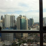 Photo taken at Burgundy Corporate Tower by Jay S. on 1/14/2013