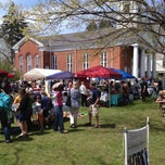 Photo taken at The Reformed Church of New Paltz by outoftowntownie J. on 4/28/2013