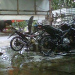 Photo taken at You Clean Motor Salon and Helm Wash by Resti S. on 3/8/2013