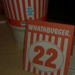 Photo taken at Whataburger by Debbie P. on 6/29/2012