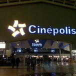 Photo taken at Cinépolis by Anaid44 on 11/14/2011