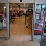 Photo taken at Delhaize Morlanwelz by Julien A. on 12/12/2011