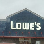 Photo taken at Lowe's Home Improvement by Chris M. on 11/20/2011