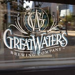 Photo taken at Great Waters Restaurant And Brewing Co. by Pam F. on 8/20/2012