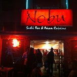 Photo taken at Nobu Sushi by Anthony P. on 2/15/2012