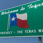 Photo taken at Louisiana / Texas State Line by Matthew G. on 8/14/2012