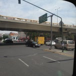 Photo taken at Calzada México-Tacuba by Rosario R. on 4/28/2012