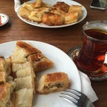 Photo taken at Kanlica Çengelköy Börekcisi by Betül T. on 2/24/2015