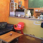 Photo taken at Aromas Café by William T. on 11/7/2012