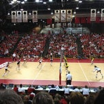 Photo taken at NU Coliseum by Kathryn K. on 9/30/2012