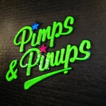 Photo taken at Pimps & Pinups by Fairies for Change on 3/12/2013