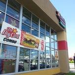 Photo taken at Carl's Jr. Green Burrito by Jacob Barlow on 5/9/2013