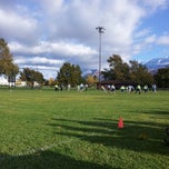 Photo taken at Community Baseball Fields by Jacob Barlow on 10/13/2012