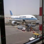 Photo taken at Kuwait International Airport (KWI) | مطار الكويت الدولي by Rahaf A. on 5/15/2013