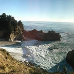 Photo taken at Julia Pfeiffer Burns State Park by Dennis on 1/20/2013