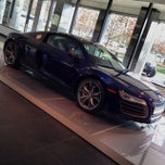 Photo taken at Audi Forum by FOURTITUDE.COM, The Audi Enthusiast Website on 12/21/2013