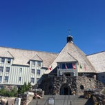 Photo taken at Timberline Lodge by Nick L. on 7/27/2013