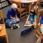Photo taken at Orange County Library - Alafaya Branch by Benjamin I. on 4/27/2013