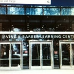 Photo taken at Irving K. Barber Learning Centre by Allan C. on 11/16/2012