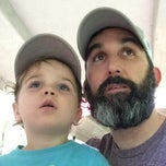 Photo taken at NC Museum of Life and Science DATA Bus Stop by Zach W. on 9/3/2014