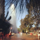 Photo taken at UCLA Covel Commons (Sunset Village) by Janine S. on 5/30/2013