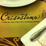 Photo taken at Crisostomo by Arvin S. on 5/11/2013