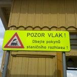 Photo taken at Železniční stanice Semily by Martin M. on 6/15/2013