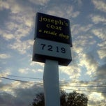 Photo taken at Joseph's Coat Resale Store by Matt W. on 9/22/2012
