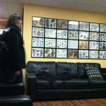 Photo taken at Pete & Cubo's Tattoo Shop by Lillian K. on 3/1/2013