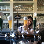 Photo taken at The Biergarten at The Standard by Shezaad Z. on 7/5/2013