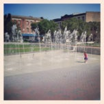 Photo taken at Ellis Square by Petit C. on 5/13/2013