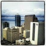Photo taken at Hilton Seattle by Kellyn on 3/2/2013
